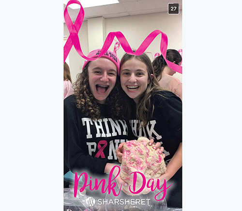 Sharsheret Celebrates Eighth Annual Pink Day