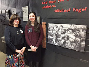 Bruriah High School Presents Annual Holocaust Memorial Museum