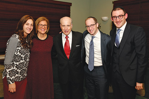 Rabbi Hershel Schachter Honored for 50 Years of Teaching at YU