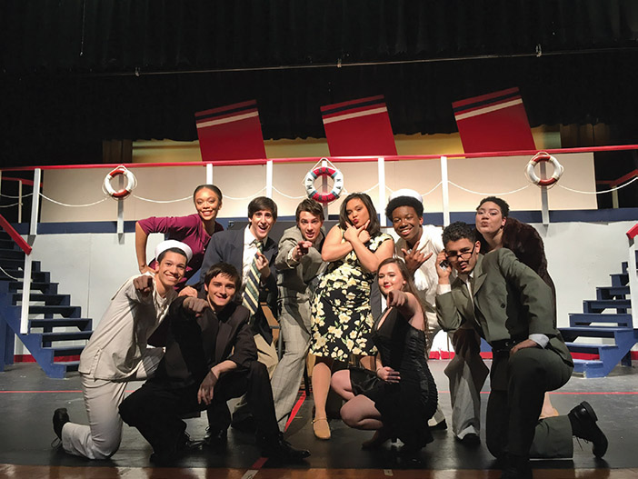 Anything Goes At Teaneck High School