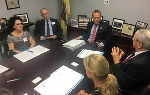 JCRC Holds Monthly Legislative Advocacy Day With Congressman Gottheimer