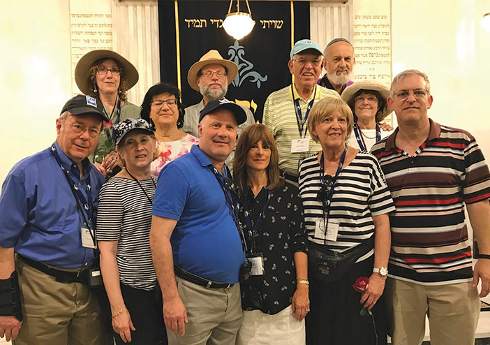 Dr. Marc Shapiro Leads 'Torah in Motion' Tour to Greece