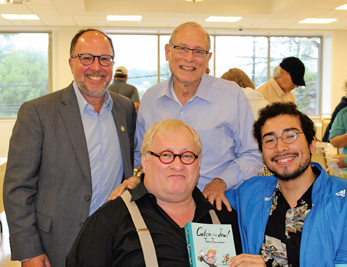 Young Israel of Fort Lee Hosts Tuvia Tenenbom