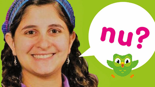 The Woman Behind Duolingo's New Yiddish CourseThe Woman Behind Duolingo's New Yiddish Course