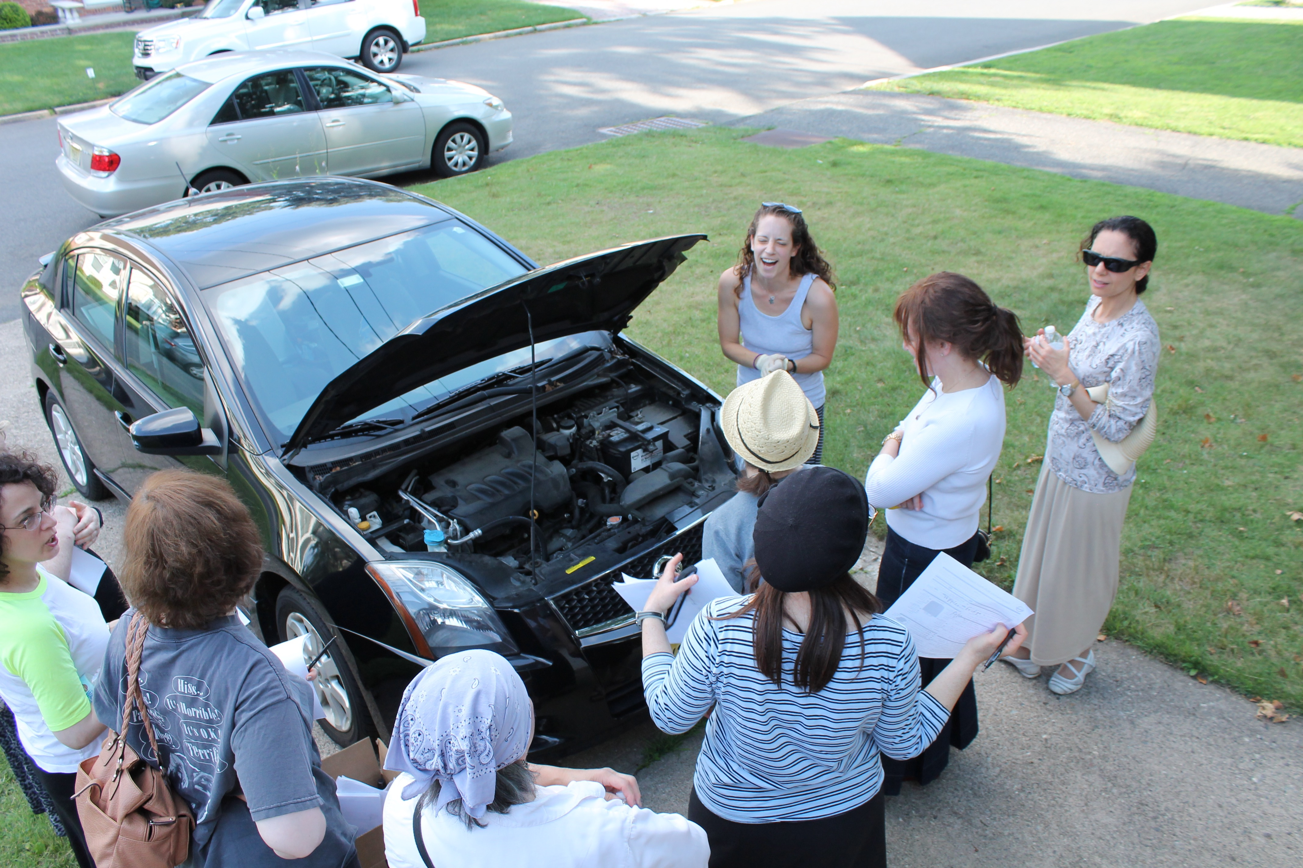 Learning About Cars With Becca - JewishLink of New Jersey