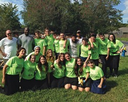 NJ NCSY teens on leadership mission