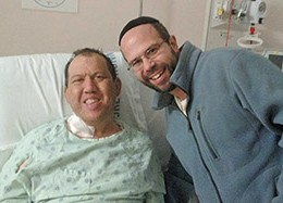 Setting the Example: Rabbi Larry Rothwachs Donates Kidney to Donny Hain