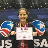 Estee Ackerman Wins Women's Singles Event