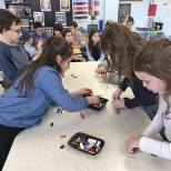 Tenafly Chabad Academy Plays 'Minute to Win It'