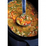 No-Work Crockpot Vegetable Soup