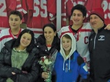 Frisch Senior Ice Hockey Night Celebrates Players and Families