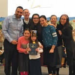 Yeshivat Noam First Graders Get Their Siddurim
