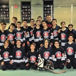 JKHA Boys Middle School Hockey Defeats Moriah to Head to the Championship
