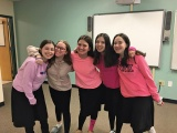 Ma'ayanot Participates in Pink Week
