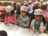 BPY Early Childhood Students Bake Matzah