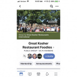 'Kosher Foodie' Facebook Groups: Let's Stick to the Facts