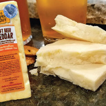 Craft Beer Cheddar by the Cheese Guy