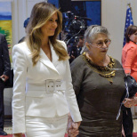 Trump, Other Leaders Offer Condolences on Passing of Nechama Rivlin