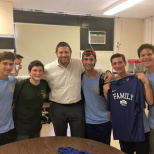 MTA Visits Talmidim and Alumni at Day Camps