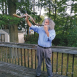Sounding the Erev Shabbat Shofar in Teaneck