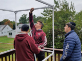 MTA Juniors Build Sukkahs for the Elderly