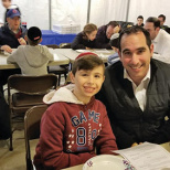 Yeshivat Noam Middle School Hosts Leil Hoshana Rabbah Parent-Child Learning