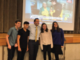 Moriah Eighth Graders Hear From Investigative Reporter