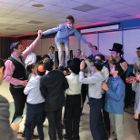 Yavneh Academy Holds Bar Mitzvah Event for Seventh Graders