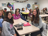 BCHSJS Holds Back to School And Israel Program Fair