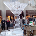 Montclair Ice Menorah Sculpture Is Vandalized; Community Unites in Support