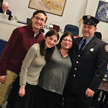 Lenny Hanauer Named Teaneck's First  Orthodox Jewish Fire Dept. Lieutenant