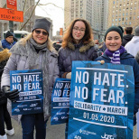 The Idea School Joins March for Solidarity