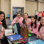 Moriah Middle School Celebrates Pink Day