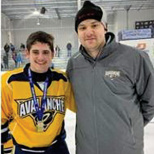Jewish 14 and Under Avalanche Team Wins NJ Ice Hockey Title