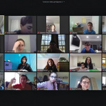 Tenafly Chabad Middle School Continues Remote Learning
