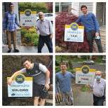 TABC Principal Hand Delivers Lawn Signs to Graduates Across NY and NJ