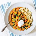 A Versatile Dish: Butternut Squash, Chickpea and Lentil Moroccan Stew
