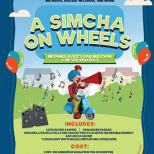 Seventh Grader Netanel Katz Launches 'Simcha on Wheels'