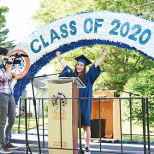 Yeshivat Noam Brings Graduation Home