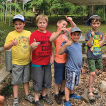 Camp Gan Israel Tenafly Older Division Heads to Scout Camp