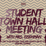 Bruriah High School Town Hall Meeting Invites Students To Connect With Incoming Principal, Esther Eisenman