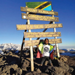 NJ Girl Helps Tanzanian Man Climb  Mount Kilimanjaro From 7,500 Miles Away