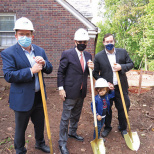 Clifton Shul Finally Breaks Ground