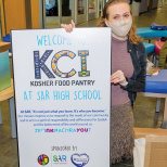 SAR High School Opens Kosher Food Pantry