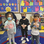 Moriah Nursery Makes Purim Groggers