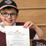 Marlboro 8-Year-Old Inspires Others to Give