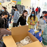Yeshivat Frisch Packs 250 Art Supply Bags for OHEL