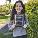 Estee Ackerman Named Outstanding Athlete