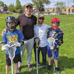 Fathers and Sons Enjoy Chevra Lacrosse Clinics