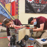 Frisch FTC Robotics Team Heads to State Championship